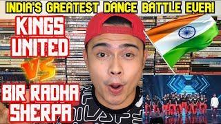 Filipino Dancer Reacts to BIR RADHA SHERPA vs KINGS UNITED | Dance Battle