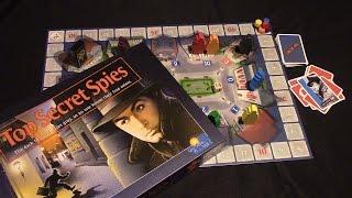 Jeremy Reviews It... - Top Secret Spies Board Game Review - Spiel des Jahres 1986