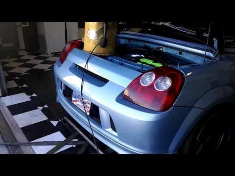 Black Market Racing - Toyota MR2 with Honda motor dyno run