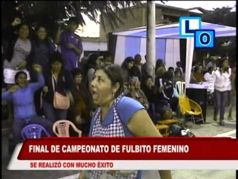 CARTAVIO RECORD - FINAL FULBITO FEMENINO EN CARTAVIO. mpg2.mpg