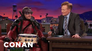 "Adam Pally's Interview As ""Snaredevil"" Goes Completely Off The Rails  - CONAN on TBS"