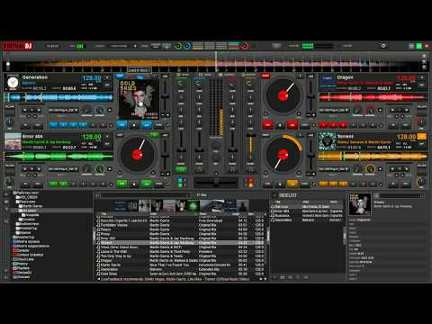 Virtual DJ8 House + Martin Garrix Mix