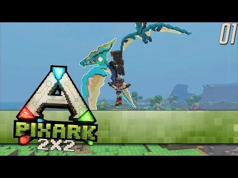 "PixARK 2x2 Server EP01 ""I Already Broke The Game"" (Gameplay)"