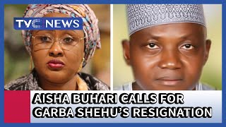 Garba Shehu is a traitor, he should resign  - Aisha Buhari