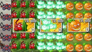 Which Plant LEVEL 1000 is the best? Plants vs Zombies 2 Kill Dr. Zomboss with ONE HIT!