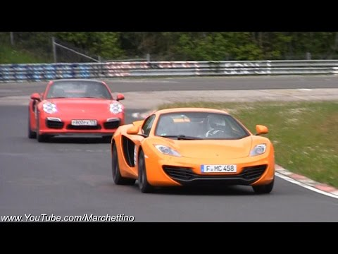 The Best Supercar Sounds at the Nürburgring