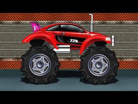 Monster Truck | Sports Car Monster Truck | Kids Car Race