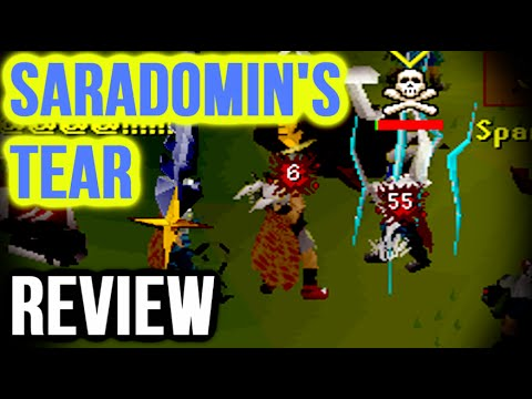 Runescape - Sparc Mac's Saradomin Tear Review & Pk Montage!