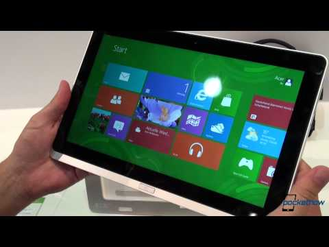 Acer Iconia W700 Hands-On