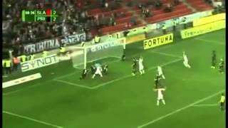 Slavia Prague 3 - 2 Pribram - Bekim Balaj Gol 88