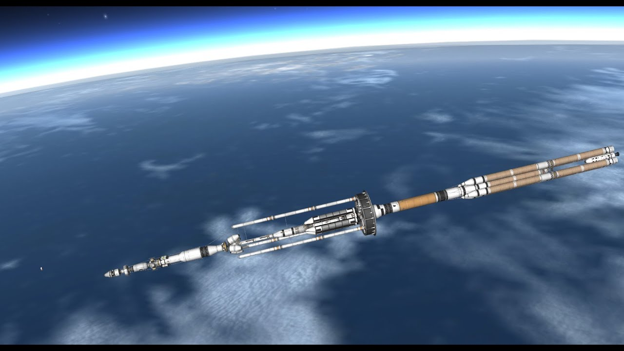 Ksp interplanetary space station