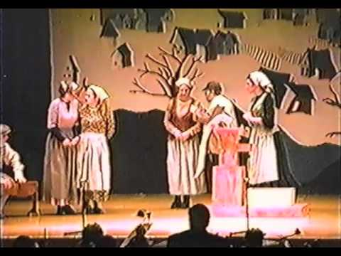 Fiddler on the Roof Musical West Mifflin High School 1999