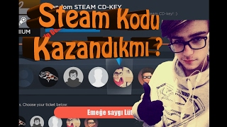 Gamekit Steam CD Key Çekilişi kazandımmı?