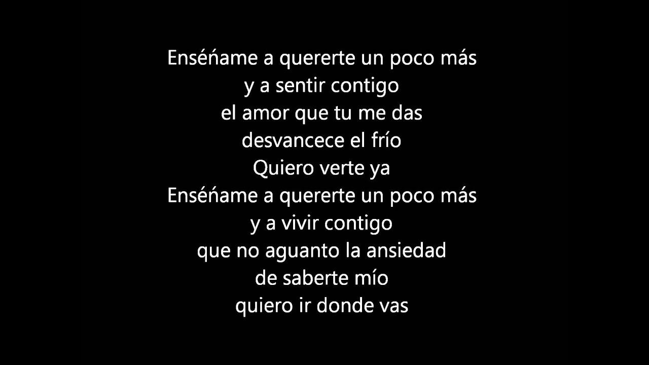 ensename rbd lyrics: