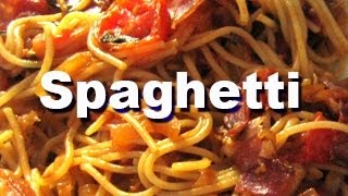 How to Make Delicious Spaghetti DIY (PART ONE) enjoy!