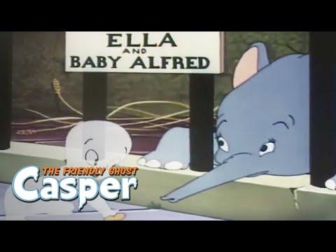 Casper Classics | Cage Fright | Casper the Ghost Full Episode | Kids Cartoon | Videos For Kids