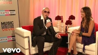 Pitbull - 2010 Backstage Interview (American Music Awards)