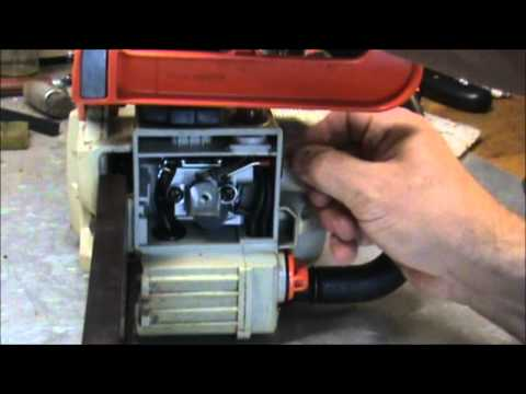 ECHO 3000 Chain Saw Carburetor Adjustment