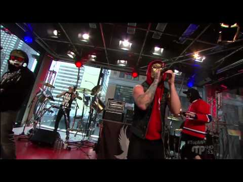 Hollywood Undead - Young (Live @ MusiquePlus Montreal, 2013)