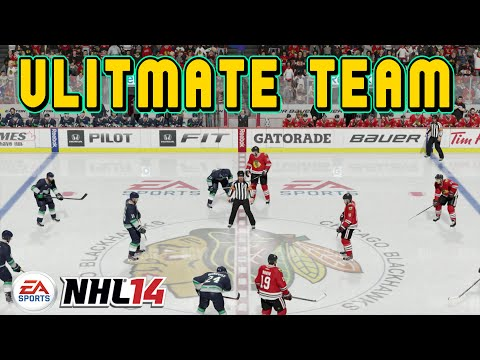 NHL 15 ULTIMATE HOCKEY TEAM ONLINE XZULAS 1st GAME!