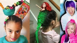 Craziest KIDS HAIRCUTS For School!