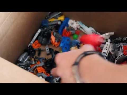 Посылки! Посылка из США с Биониклами!