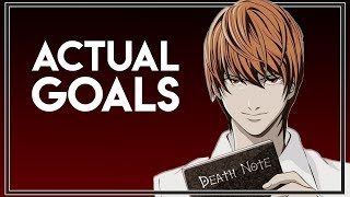 Light's True Ambitions? - Death Note Theory
