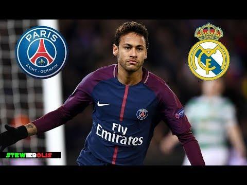 Neymar Jr ⚽ First Match at Santiago Bernabeu ⚽ PSG Vs Real Madrid 2018  ⚽ HD 1080i #Neymar