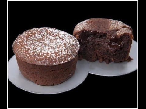 Moelleux au chocolat - recette inratable en 2 mins!!