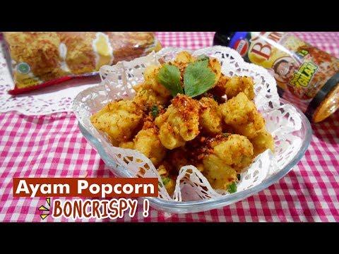 Cara Membuat Ayam Popcorn #Boncrispy