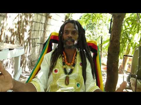 Father Culture - Rastafarian, Talks to his audience