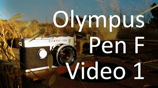 Olympus Pen F Video Manual 1 of 2