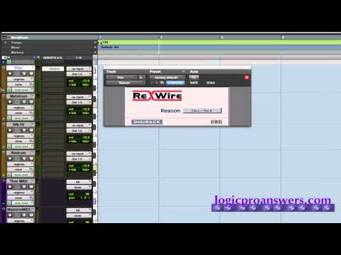 Pro Tools and Reason Rewire Set-Up.mov