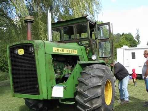 HEAR IT ROAR! RARE 8020 JOHN DEERE TRACTOR WITH 2-STROKE DIESEL.