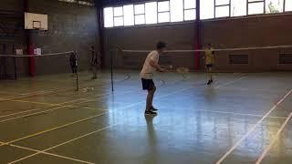 Tactical strategy (badminton assignment)
