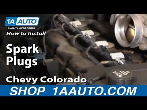 How To Install Replace Spark Plugs Chevy Colorado 1AAuto.com