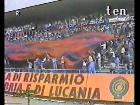 AMARCORD - COREOGRAFIA COSENZA-CATANZARO 1984/85