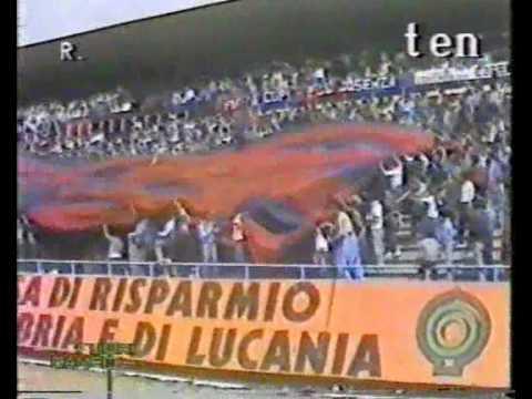 AMARCORD - COREOGRAFIA COSENZA-CATANZARO 1984/85