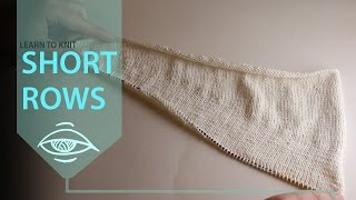 How to (easily) knit short rows