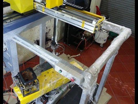 หุ่นยนต์พ่นสี /Painting Robot System / ทดสอบพ่นสี