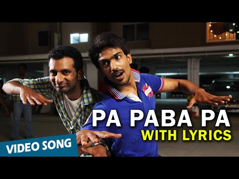 Pa Paba Pa Full Song with Lyrics | Moone Moonu Varthai | Arjun Chidambaram, Aditi Chengappa