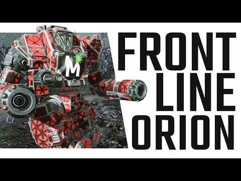 Front Line Orion Build ON1-V - Mechwarrior Online The Daily Dose #440