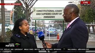 Latest update from Zimbabwe as MDC lawyers file court papers
