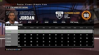 NBA 2K19: How To Use a NBA Player Or Legend In Career Mode offline Or Online