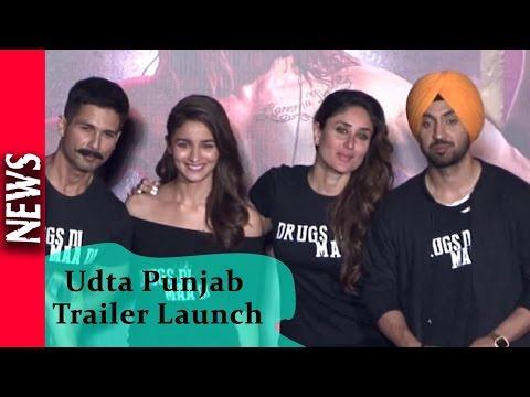 Latest Bollywood News - Star Studded Trailer Launch Of Udta Punjab - Bollywood Gossip 2018