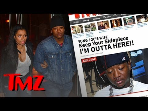 Yung Joc's Wife Files For Divorce