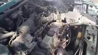 Desmontaje de culata de vehículo perdida de fuerza en el motor