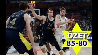 Real Madrid - Fenerbahçe Doğuş 85-80 Maç Özeti Highlights 20.05.2018