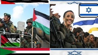 Palestinians VS Israeli Military Power 2015 - 2016 HD