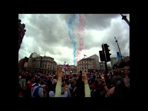 2012 London Olympic fly by